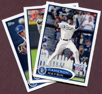 2012 Topps Opening Day San Diego Padres Baseball Cards Team Set