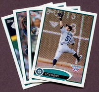 2012 Topps Opening Day Seattle Mariners Baseball Cards Team Set