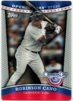 2012 Topps Opening Day Stars 3D Robinson Cano Baseball Card