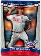 2012 Topps Opening Day Stars 3D Roy Halladay Baseball Card