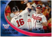 2012 Topps Opening Day Superstar Celebrations Dan Uggla Baseball Card