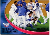 2012 Topps Opening Day Superstar Celebrations Eric Hosmer Baseball Card