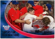2012 Topps Opening Day Superstar Celebrations Jacoby Ellsbury Baseball card