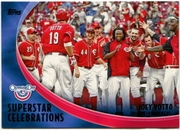 2012 Topps Opening Day Superstar Celebrations Joey Votto Baseball Card