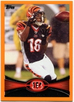 2012 Topps Orange A.J. Green NFL Football Card