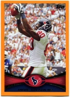 2012 Topps Orange Andre Johnson NFL Football Card
