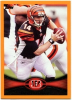 2012 Topps Orange Andy Dalton NFL Football Card