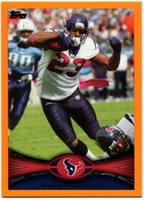 2012 Topps Orange Arian Foster NFL Football Card