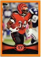 2012 Topps Orange BenJarvus Green-Ellis NFL Football Card