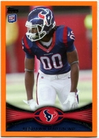 2012 Topps Orange Keshawn Martin NFL Football Card