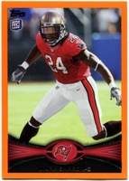2012 Topps Orange Mark Barron NFL Football Card