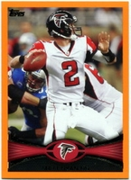 2012 Topps Orange Matt Ryan NFL Football Card