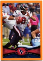 2012 Topps Orange Matt Schaub NFL Football Card