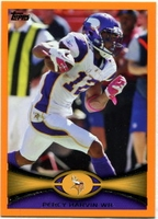 2012 Topps Orange Percy Harvin NFL Football Card