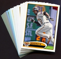 2012 Topps Pittsburgh Pirates Baseball Cards Team Set