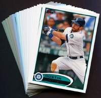 2012 Topps Seattle Mariners Baseball Cards Team Set