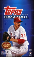 2012 Topps Series 1 Baseball Cards Hobby Box