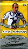 2012 Upper Deck MLS Soccer Trading Cards Pack