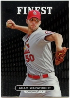 2013 Finest Adam Wainwright Baseball Card