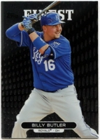 2013 Finest Billy Butler Baseball Card