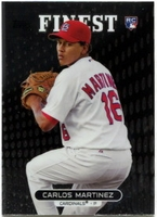 2013 Finest Carlos Martinez Rookie Baseball Card
