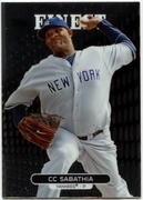 2013 Finest CC Sabathia Baseball Card