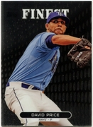 2013 Finest David Price Baseball Card
