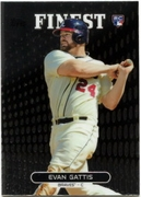 2013 Finest Evan Gattis Rookie Baseball Card