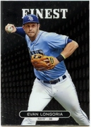 2013 Finest Evan Longoria Baseball Card