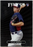 2013 Finest Kyle Gibson Rookie Baseball Card