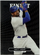 2013 Finest Matt Kemp Baseball Card