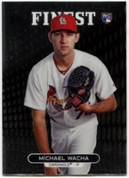 2013 Finest Michael Wacha Rookie Baseball Card