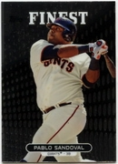 2013 Finest Pablo Sandoval Baseball Card