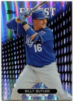 2013 Finest Refractors Billy Butler Baseball Card