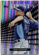 2013 Finest Refractors Jake Odorizzi Baseball Card