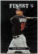 2013 Finest Rob Brantly Rookie Baseball Card