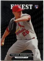 2013 Finest Trevor Rosenthal Rookie Baseball Card