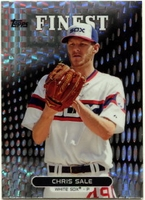 2013 Finest X-Fractors Chris Sale Baseball Card