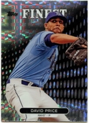 2013 Finest X-Fractors David Price Baseball Card