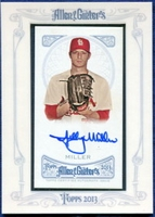 2013 Topps Allen and Ginter Autographs Shelby Miller Baseball Card