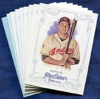 2013 Topps Allen and Ginter Cleveland Indians Baseball Card Team Set
