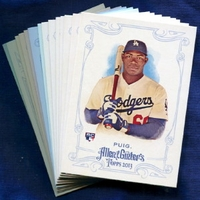2013 Topps Allen and Ginter Los Angeles Dodgers Baseball Card Team Set