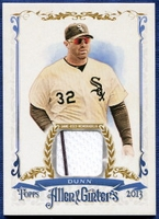 2013 Topps Allen and Ginter Relics Adam Dunn Baseball Card