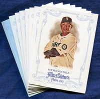 2013 Topps Allen and Ginter Seattle Mariners Baseball Card Team Set