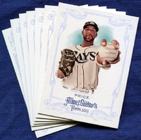 2013 Topps Allen and Ginter Tampa Bay Rays Baseball Card Team Set
