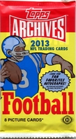 2013 Topps Archives NFL Football Cards Hobby Pack
