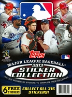 2013 Topps Baseball Sticker Collection Paperback Album