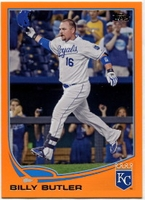 2013 Topps Factory Set Orange Billy Butler Baseball Card