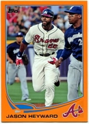 2013 Topps Factory Set Orange Jason Heyward Baseball Card
