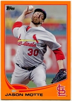 2013 Topps Factory Set Orange Jason Motte Baseball Card